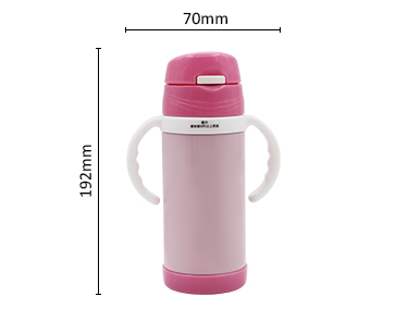 Kids cartoon stainless steel vacuum bottles outdoor travel water drinking bottle