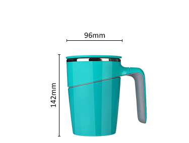 Stainless Steel Tumbler Water Bottle Non-Spill Water Bottle Never Fall Coffee Suction Mug