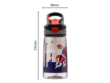BPA Free Tritan School Durable Children Plastic Water Bottle