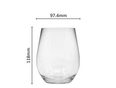 Wholesale reusable plastic wine glasses