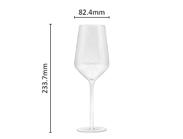 Unbreakable plastic stemless wine glasses
