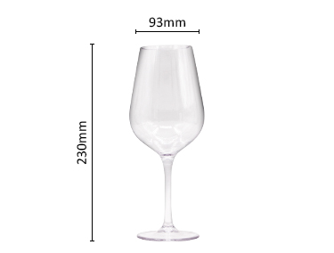 BPA free Tritan plastic stemless wine glasses wholesale