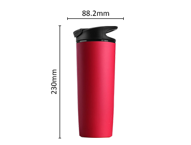 Top quality double wall suction mug non-spill travel mug coffee cup