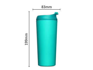 Suction spill mug Travel Mug won't fall plastic water bottle suction mug