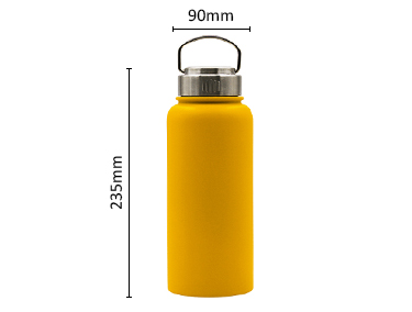 Double Wall Vacuum Insulated Stainless Steel Sports Water Bottle Leak & Sweat Proof