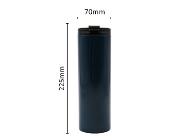 Stainless Steel Double Wall Insulated Tumbler with Spill Proof Flip Top Lid