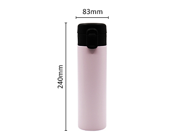 Fashion style PP and silica vacuum bottle for sport use