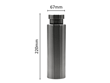 Double Walled Stainless Steel Water Thermos-Sweat Proof & Leak Proof