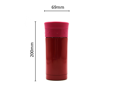 Sweatproof Wide Mouth Double Walled Vacuum Insulated Stainless Steel Water Bottle Cold and Hot