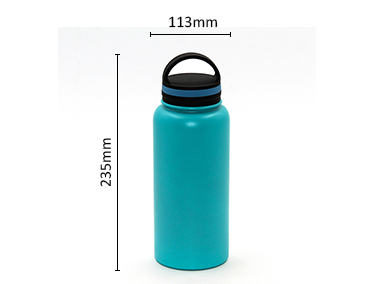 Sports insulated double wall stainless steel water bottle