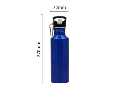 Single Wall Sublimation Aluminum Sport Water Bottle for heat transfer