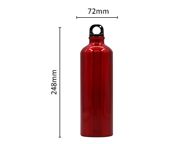 Eco Friendly Fda Approved Eco Kids Water Bottle Aluminium Small Mouth Aluminum Flask