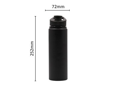 Single Wall Blank Sublimation water bottle aluminum sport bottle for Outdoor Camping Cycling