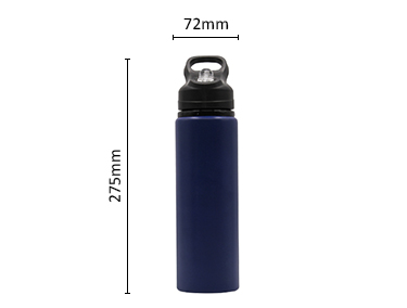 Single Wall Bpa Free Eco Friendly Aluminum Drinking Water Bottle
