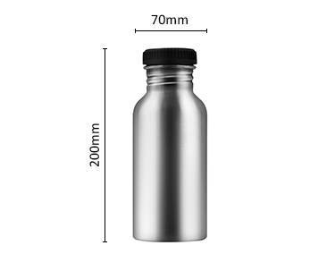 Eco friendly single wall stainless steel outdoor sports water bottle