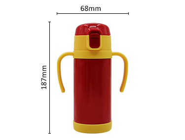 New style fashion safe stainless steel vacuum bottle kids use vacuum bottle