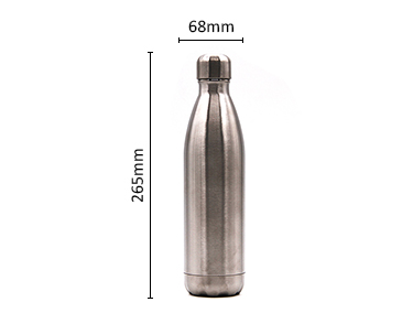 Stainless steel Cola Shape Vacuum Flask Keep hot and Cool