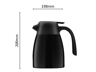 Travel Large Capacity Stainless Steel Thermos Coffee Pot Water Flask