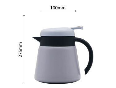 European stainless steel coffee pot kettle vacuum stainless steel thermos kettle