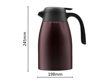 Big Capacity Hot sale Strong Heat Preservatio Double Wall 304 Stainless Steel 1.6L Thermos Carafes